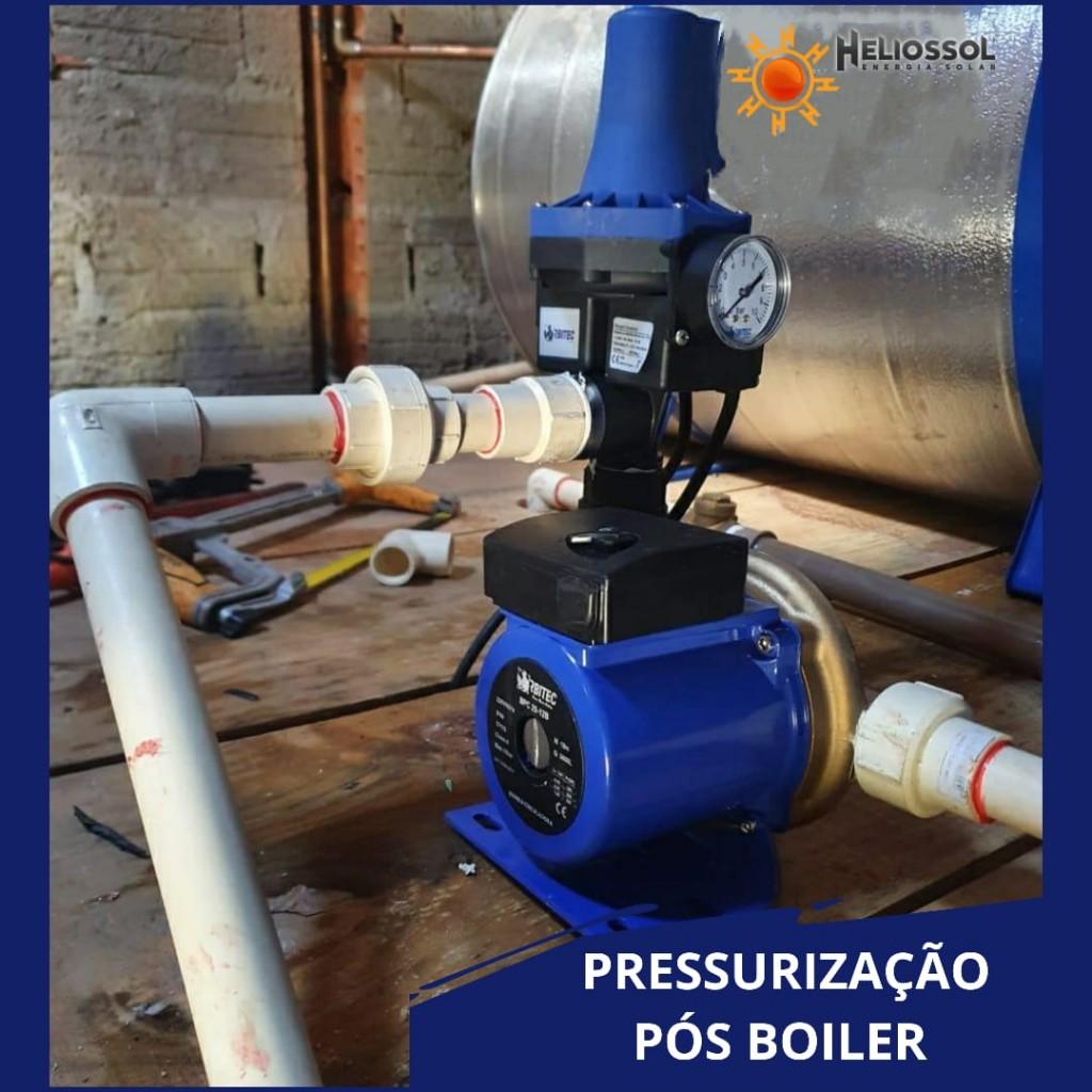 PRESSURIZAÇÃO PÓS-BOILER