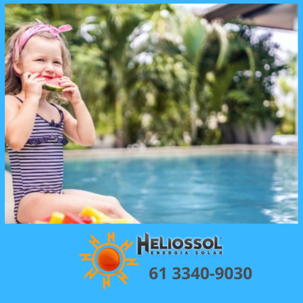 Dimensione aqui o seu aquecedor solar de piscina